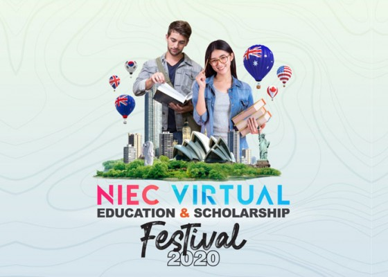 Nusabali.com - virtual-education-scholarship-festival-2020-niec-indonesia