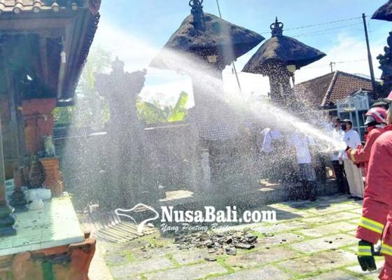 Nusabali.com - korsleting-listrik-piyasan-terbakar