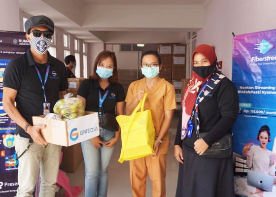 Nusabali.com - fiberstream-sharing-is-caring-kepada-tenaga-medis-pejuang-covid-19