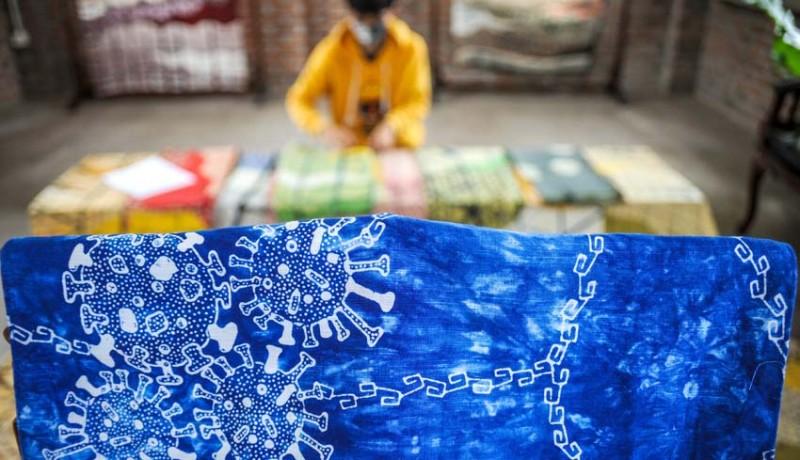 www.nusabali.com-batik-motif-virus-corona
