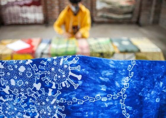 Nusabali.com - batik-motif-virus-corona