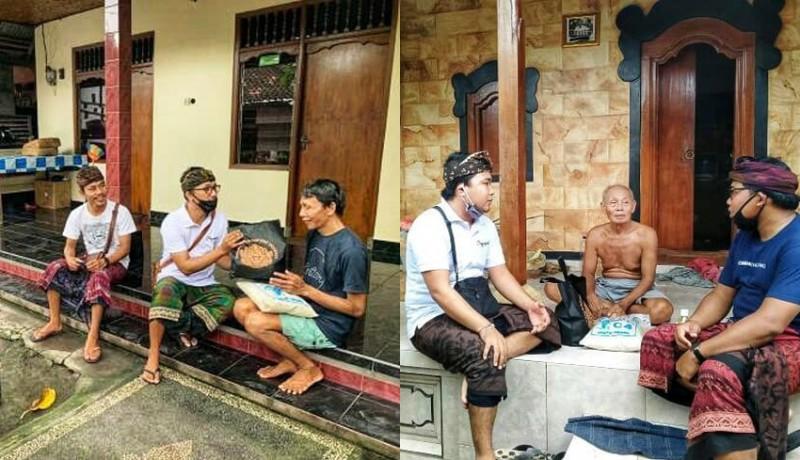 www.nusabali.com-komunitas-seni-jagaraga-ngayah-salurkan-sembako-bagi-seniman-singapadu