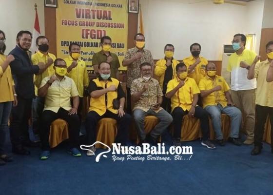 Nusabali.com - golkar-yakin-menang-di-bangli-karangasem