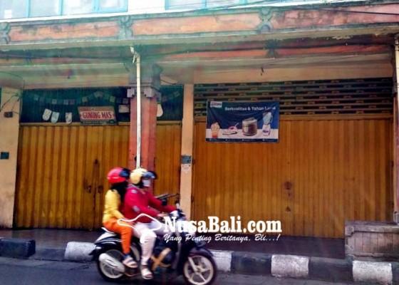 Nusabali.com - tiga-blok-toko-ditutup