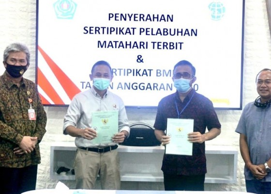 Nusabali.com - sertifikat-pembebasan-tanah-untuk-pelabuhan-sanur-diterbitkan