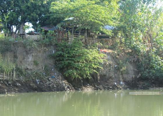 Nusabali.com - rumah-lima-kk-terancam-abrasi-sungai-samblong