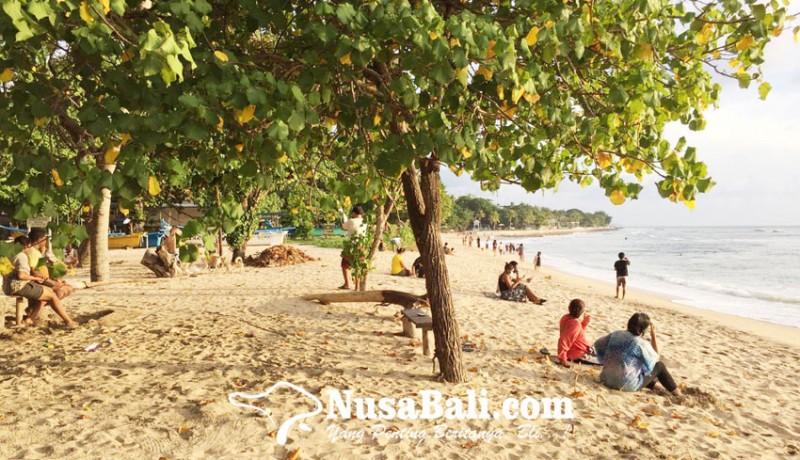 www.nusabali.com-pantai-kuta-belum-dibuka-wisatawan-lewat-jalur-tikus
