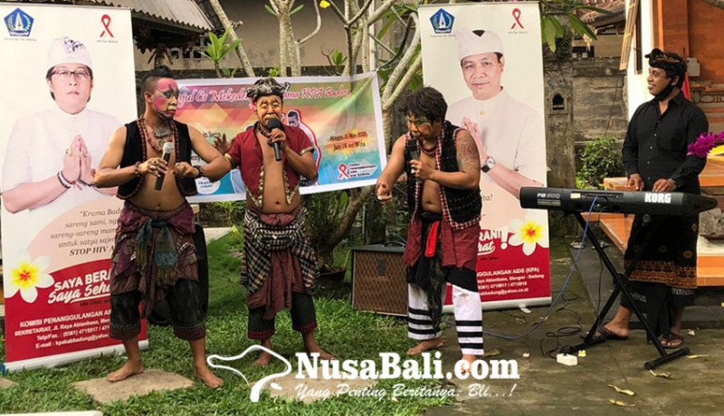 www.nusabali.com-peringatan-malam-renungan-aids-nusantara-2020-diramaikan-panjul-cs