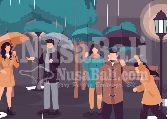 Nusabali.com - intensitas-hujan-di-denpasar-meningkat