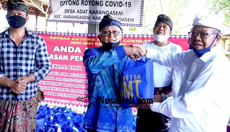 www.nusabali.com-gmt-bagikan-4378-paket-sembako-di-desa-adat-karangasem