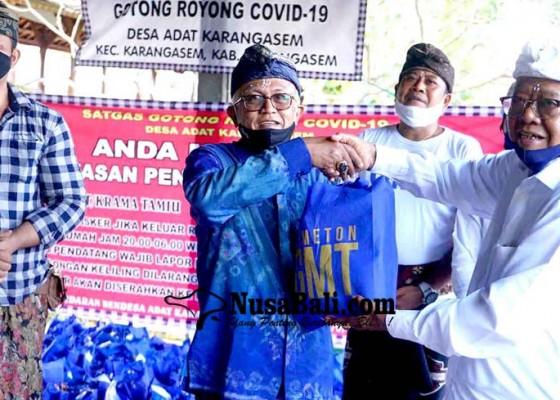 Nusabali.com - gmt-bagikan-4378-paket-sembako-di-desa-adat-karangasem