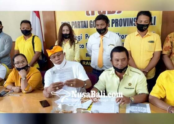Nusabali.com - golkar-bali-terima-66-pengaduan-warga