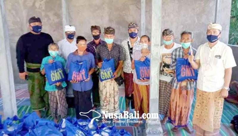 www.nusabali.com-gmt-bantu-413-sembako-dadia-arya-kanuruhan-dan-pgsdt
