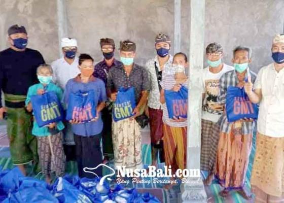 Nusabali.com - gmt-bantu-413-sembako-dadia-arya-kanuruhan-dan-pgsdt