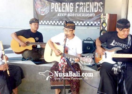 Nusabali.com - poleng-friends-garap-bengong-jumah