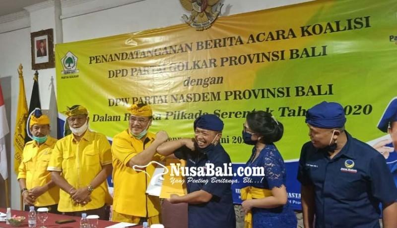 www.nusabali.com-golkar-nasdem-galang-koalisi-keroyok-pdip