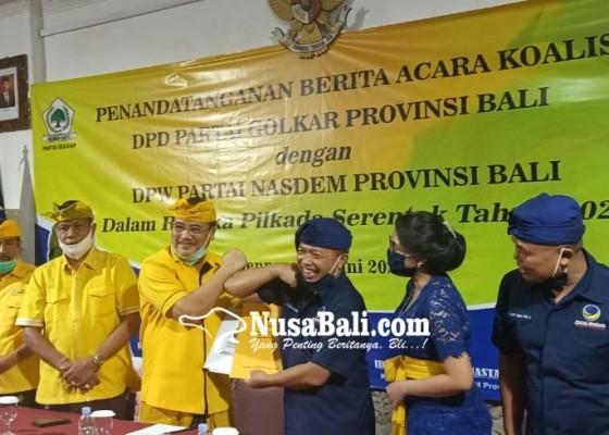 Nusabali.com - golkar-nasdem-galang-koalisi-keroyok-pdip