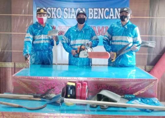 Nusabali.com - polsek-kintamani-bangun-posko-siaga-bencana