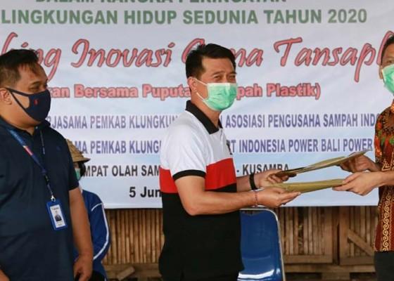 Nusabali.com - bupati-suwirta-launching-inovasi-gema-tansaplas