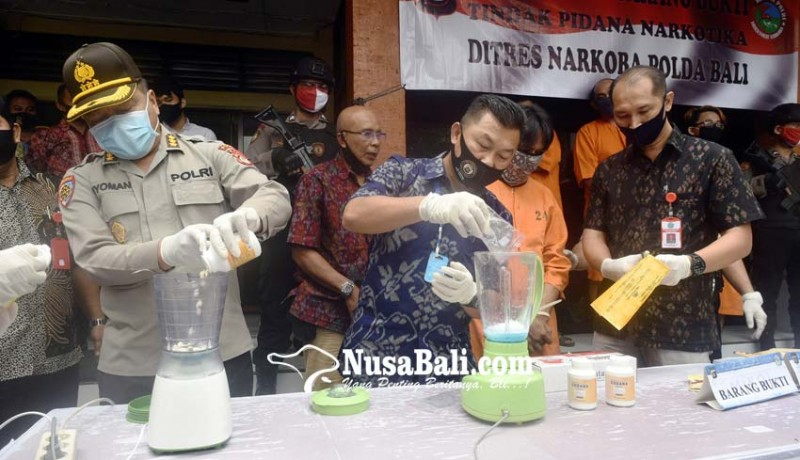 www.nusabali.com-387-tersangka-narkoba-diringkus-selama-covid-19