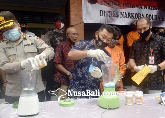 Nusabali.com - 387-tersangka-narkoba-diringkus-selama-covid-19