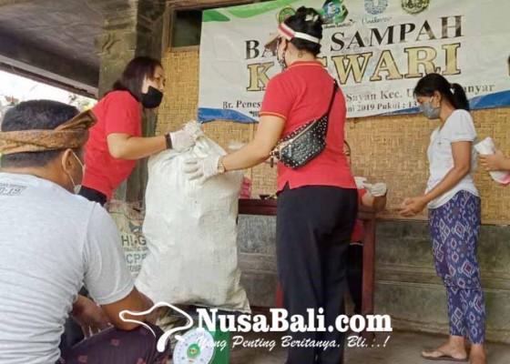 Nusabali.com - warga-diminta-menabung-sampah-plastik-lalu-ditukar-dengan-beras-di-bank-sampah