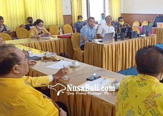 Nusabali.com - golkar-siapkan-dokumen-politik-pemulihan-ekonomi-bali