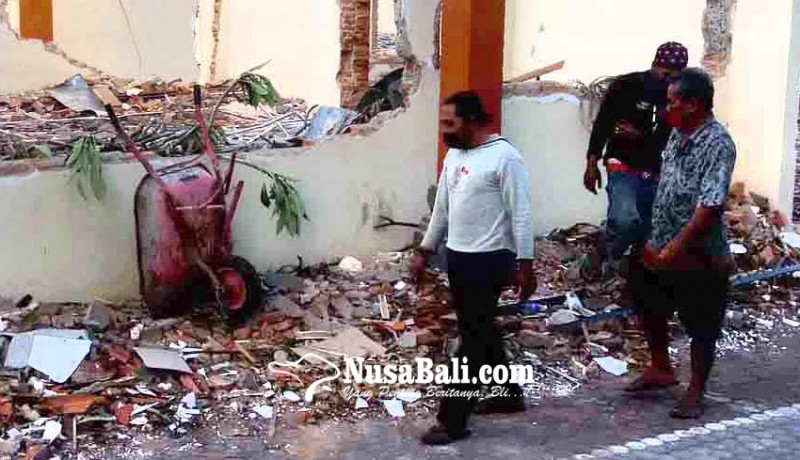 www.nusabali.com-pembangunan-kantor-kemenag-karangasem-rp-25-m