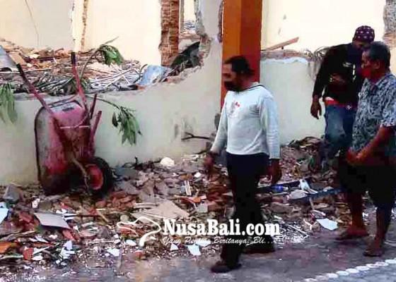 Nusabali.com - pembangunan-kantor-kemenag-karangasem-rp-25-m