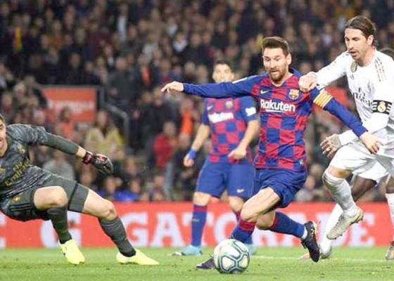 Nusabali.com - laliga-kembali-rivalitas-tetap-barcelona-dan-madrid