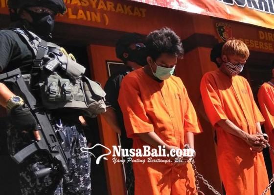Nusabali.com - dua-dari-tiga-tersangka-ditangkap-usai-ijab-kabul
