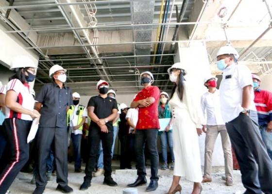 Nusabali.com - komisi-ii-dprd-kabupaten-badung-tinjau-pembangunan-gedung-baru-rsd-mangusada