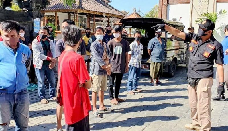 www.nusabali.com-sidak-penduduk-pendatang-16-orang-terjaring