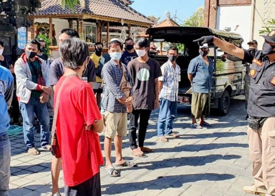 Nusabali.com - sidak-penduduk-pendatang-16-orang-terjaring
