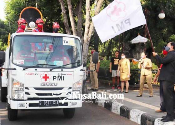 Nusabali.com - pmi-buleleng-dapat-bantuan-truk-gunner