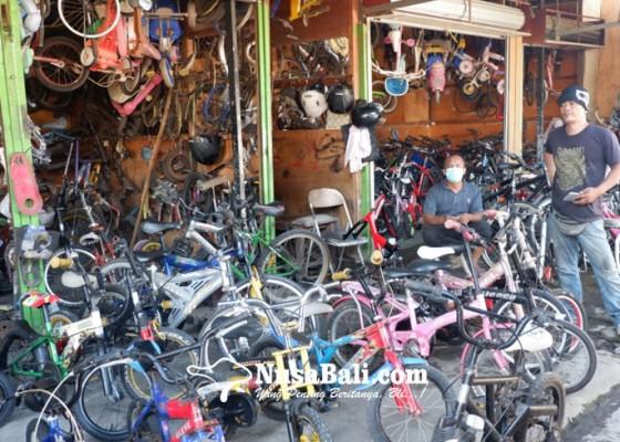 Nusabali.com - sepeda-bekas-laris-di-tengah-pandemi