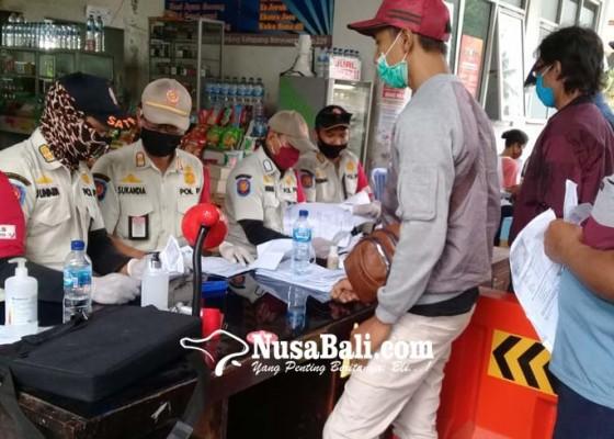 Nusabali.com - 6284-orang-ditolak-masuk-bali-lewat-gilimanuk