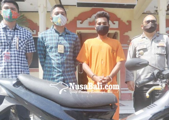 Nusabali.com - pencuri-motor-ngaku-beraksi-karena-mabuk