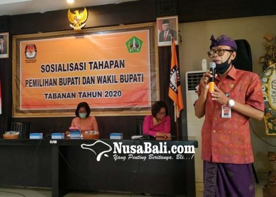 Nusabali.com - kpu-tabanan-sosialisasikan-tahapan-pilkada