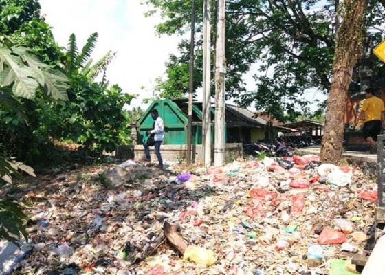 Nusabali.com - wajah-desa-pergung-dikotori-sampah