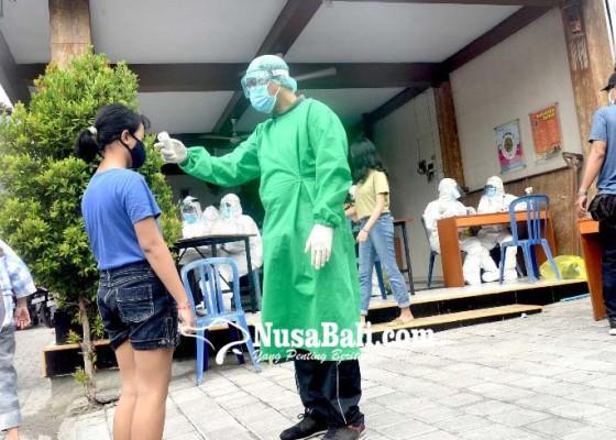 Nusabali.com - ratusan-warga-perumahan-di-rapid-test