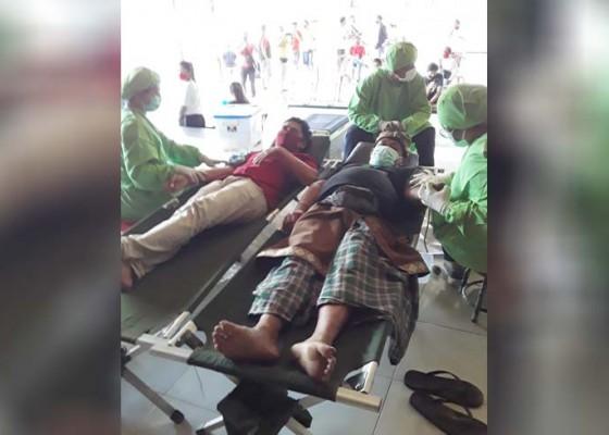Nusabali.com - desa-adat-pengaj-gelar-donor-darah
