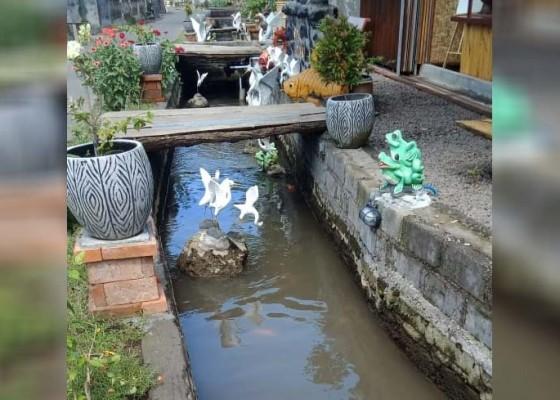 Nusabali.com - komunitas-de-batoean-sulap-irigasi-subak-jadi-tempat-rekreasi
