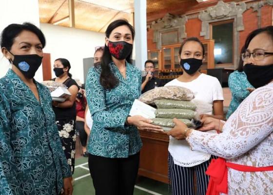 Nusabali.com - tp-pkk-gianyar-serahkan-bantuan-pmt-untuk-ibu-hamil-kurang-mampu