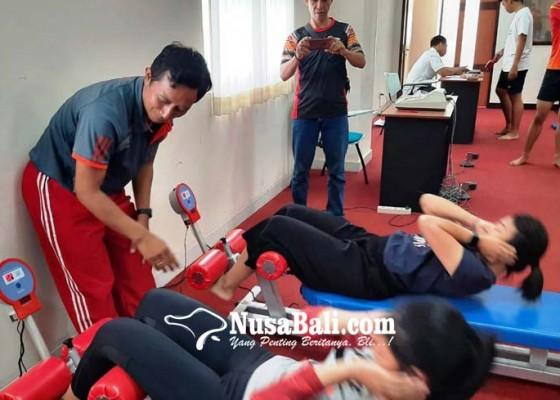 Nusabali.com - atlet-pon-siap-jalani-tes-fisik-tahap-ii