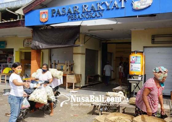 Nusabali.com - pasar-pesangkan-dan-pasar-selat-ditutup