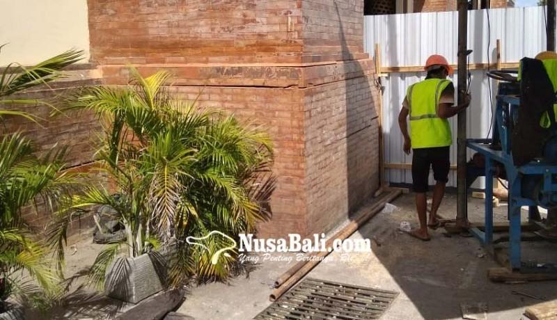www.nusabali.com-tembok-bangunan-pasar-badung-kembali-retak
