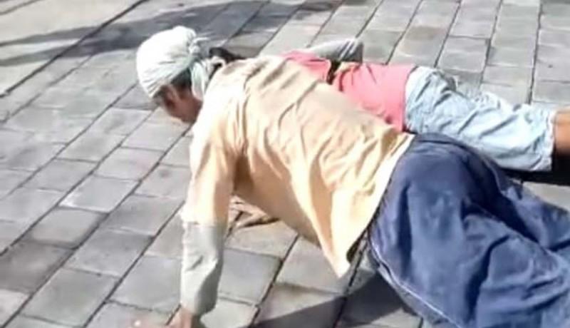 www.nusabali.com-tidak-pakai-masker-disuruh-push-up