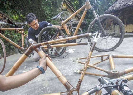 Nusabali.com - sepeda-bambu-menembus-ekspor