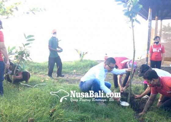 Nusabali.com - dlh-gencarkan-penanaman-ribuan-pohon